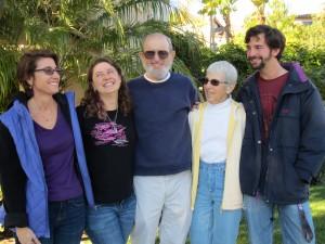 Erika, Shira, Dad, Mom, Shea