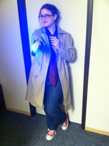 Shira as the Doctor